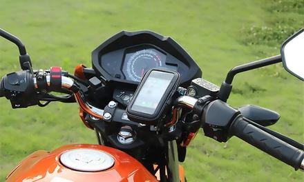 Soporte impermeable 360 de Smartphone o GPS para moto o bicicleta