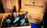 Brewery Tour and Tasting for Two with Optional Case of Mixed Beers at Redemption Brewing Company (Up to 35% Off)