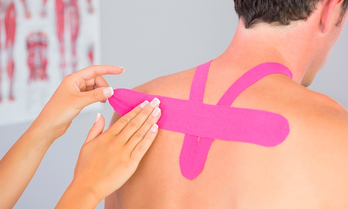 Quartell Chiropractic - LA Fitness Plaza: $12 for Two Kinesiology-Tape Sessions and a Chiropractic Exam at Quartell Chiropractic ($65 Value)