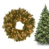 Carolina Pine Collection Artificial Hinged Tree, Wreath, or Garland