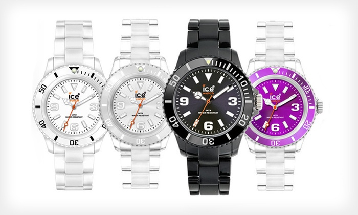 Ice Classic Watches: $17.99 for an Ice Classic Watch ($85 List Price). Four Colours Available.