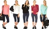 Lyss Loo Here to Infinity Women's Drawstring Hoodie Top: Lyss Loo Here to Infinity Drawstring Hoodie Top