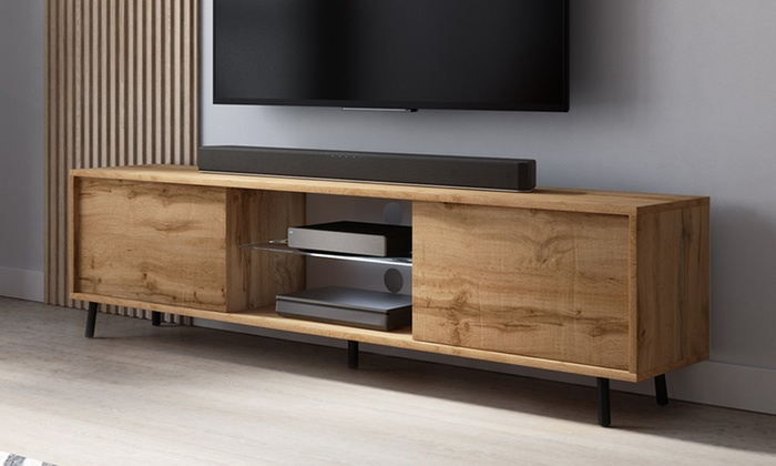 TV Cabinet with LEDs