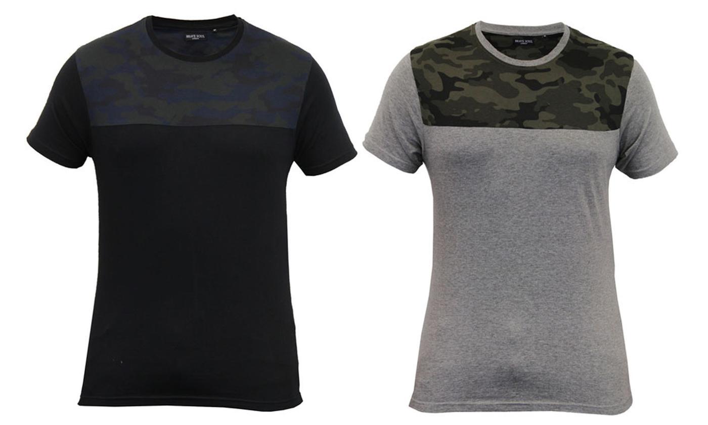 Brave Soul Military T-Shirt