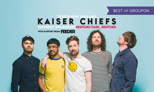 Bedford Park Concerts 2017: Kaiser Chiefs Supported by Feeder, 5 August, Bedford Park