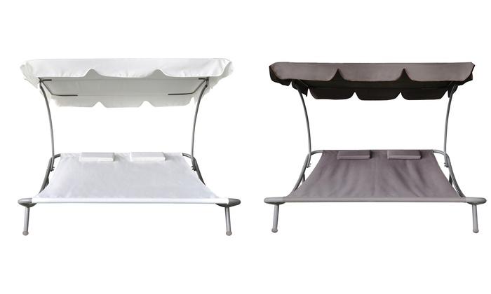 bain de soleil double groupon. Black Bedroom Furniture Sets. Home Design Ideas