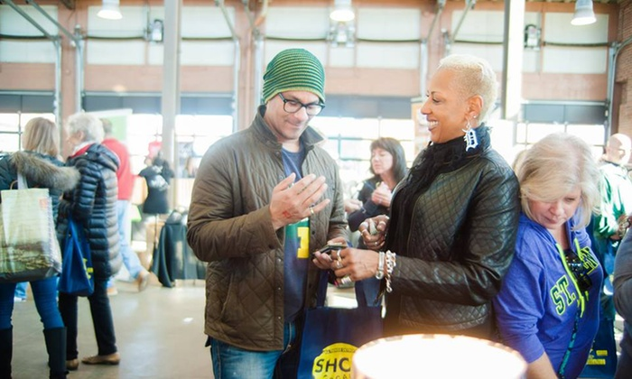 All Things Detroit - Eastern Market Corporation Shed 3 & 5: Admission for Two, Four, or Six to All Things Detroit on Sunday, April 3, at Eastern Market (Up to 43% Off)