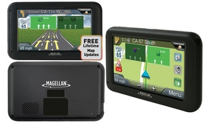 "Magellan 5"" Roadmate 5322-LM Portable GPS with Lifetime Maps"
