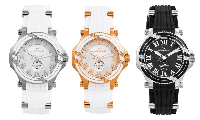 Aquaswiss Bolt L Diamond Watch from £129