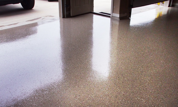 Central Epoxy Flooring - Wood River: $839 for up to 400 Sq. Ft. of Epoxy Flooring from Central Epoxy Flooring ($1,200 Value)