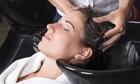 Cut, Blow-Dry with Highlights or Colour at SR Beautique Skin Care & Nails (Up to 68% Off)