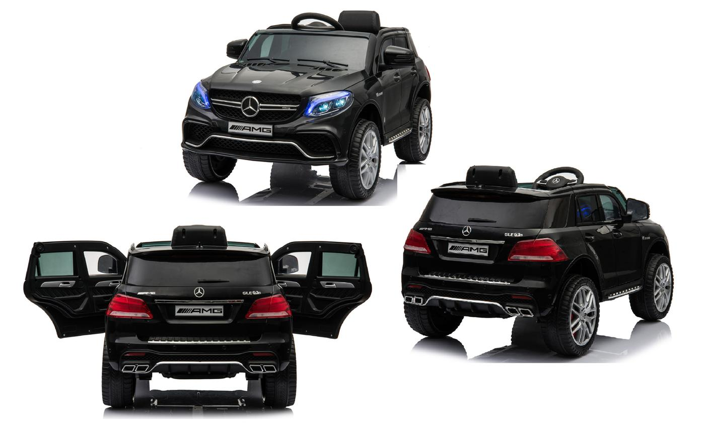 Kids' Mercedes-Style GLE63S AMG Battery-Powered Ride-On Car With Free Delivery