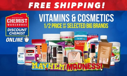 Chemist Warehouse Free Shipping Don T Pay 8 95