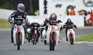 Real Motorsport Ltd: Honda C90 Plop Enduro Race at Mallory Park Circuit on Saturday, 14 May (Up to 63% Off)