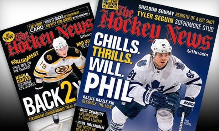 """Hockey News: $22 for a One-Year Subscription to the """"Hockey News"""" Magazine ($45 Value)"""