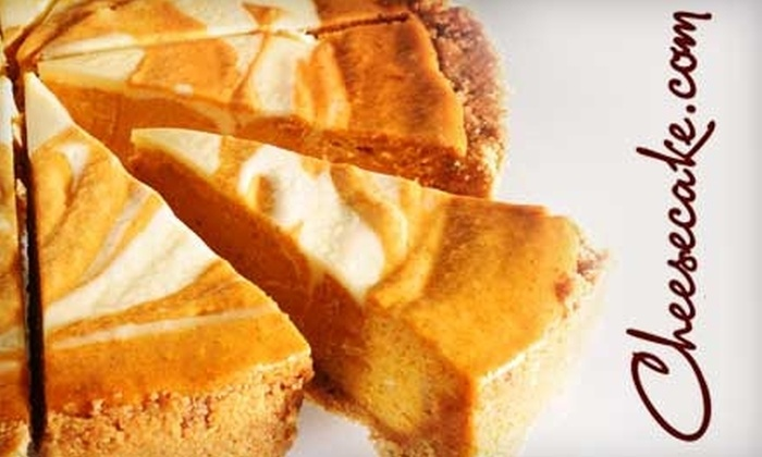 Cheesecake.com: $20 for $40 toward Cheesecakes, Cookies, Brownies and More at Cheesecake.com