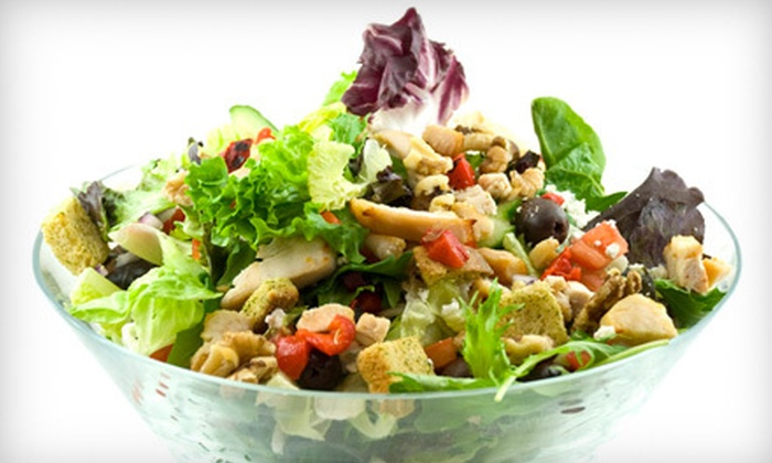 Freshii  - Newport Beach: $10 for Healthful Fare for Two at Freshii in Newport Beach (Up to $19.98 Value)