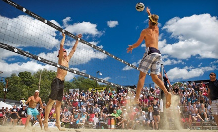 US Open of Beach Volleyball 2011 at Hahana Beach on Fri., Sept 2 at 10:30AM: General Admission - US Open of Beach Volleyball 2011 in Cincinnati