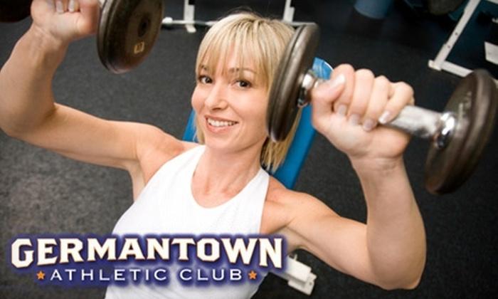Germantown Athletic Club - Germantown: $18 for 30-Day Trial at Germantown Athletic Club
