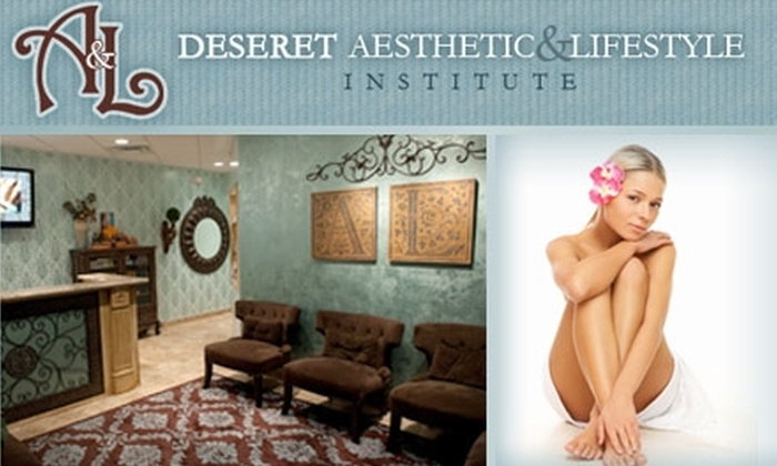 Deseret Aesthetic & Lifestyle Institute - Wyndhavens Apartment: $185 for 3 Laser Hair Removals on 2 Areas with Deseret Aesthetic (Up to $744 Value)