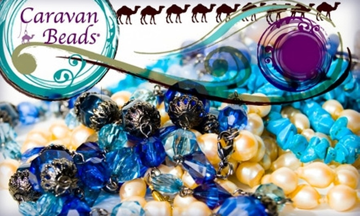 Caravan Beads - Lakeview: $15 for $30 Worth of Classes at Caravan Beads