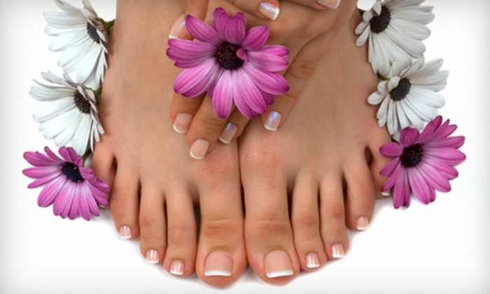 Chenell's Natural Nails - Leeward Walk: Basic Mani-Pedi or Signature Manicure and Chocolate Pedicure at Chenell's Natural Nails in Alpharetta (Up to 60% Off)