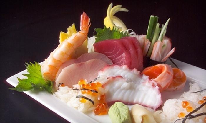 Zushi Japanese Cuisine - Houston: $20 for $40 Worth of Sushi, Sashimi, and More at Zushi Japanese Cuisine