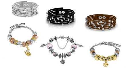 From $25 for a Bracelet Embellished with Crystals from Swarovski® (Don't Pay up to $208.17)