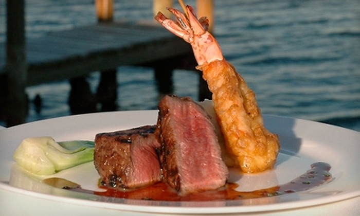 Ophelia's on the Bay - Sarasota: $15 for $30 Worth of Seafood and Fusion Fare at Ophelia's on the Bay in Sarasota