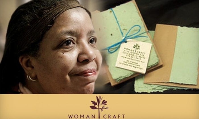 WomanCraft - Little Village: Donate $5, $10, or $25 to WomanCraft to Fund at Least One Week of Programming for a Woman Artisan.