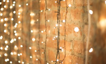 Weatherproof 100-LED Solar String Lights, 100 Ft. (1 or 2 Pack)