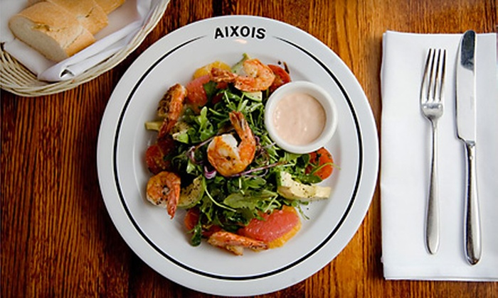 Aixois - Countryside: French Dinner for Two or Four at Aixois