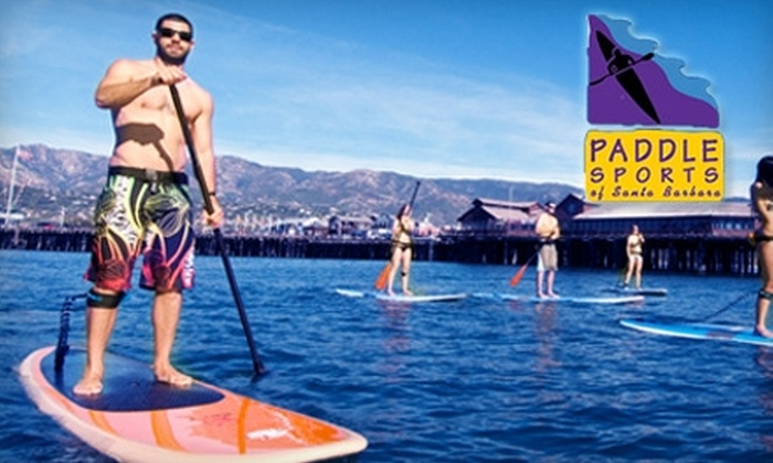 Paddle Sports of Santa Barbara - Waterfront: $20 for a Two-Hour Stand-Up Paddleboard or Tandem Kayak Rental at Paddle Sports of Santa Barbara