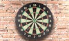 Game Room Dartboard Set with 6 Darts and Board (7-Piece)