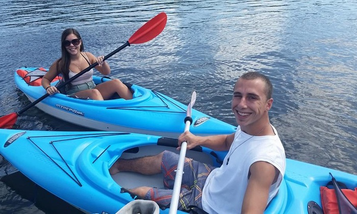 East Coast Paddle Sports - Multiple Locations: 60- or 90-Minute Paddleboard or Kayak Rentals or Season Pass at East Coast Paddle Sports (Up to 50% Off)