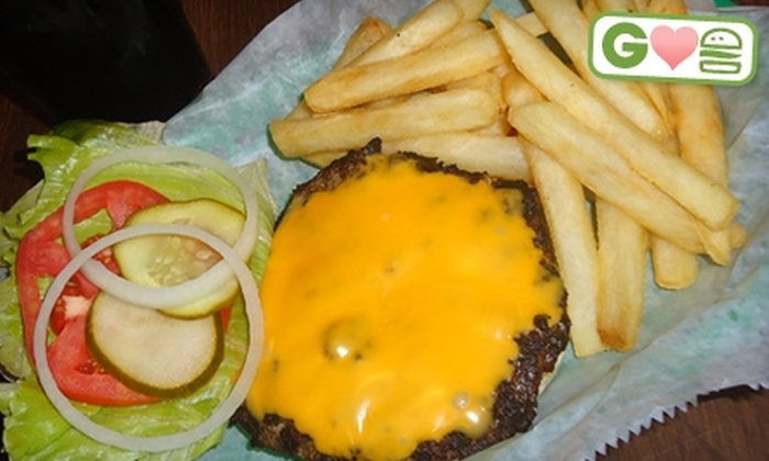 Crunchy's - East Lansing: $5 for $10 Worth of Burgers, Drinks, and Pub Fare at Crunchy's