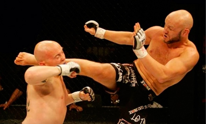UCF Arena - Union Park: $16 for One Upper-Level World Extreme Fighting Ticket at UCF Arena ($32 Value)