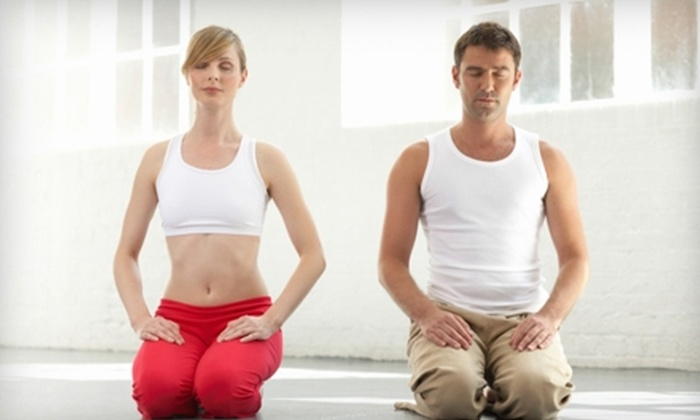 Hari Om Yoga - Willowbrook: $10 for Two Weeks of Unlimited Drop-In Yoga at Hari Om Yoga in Langley ($30 Value)