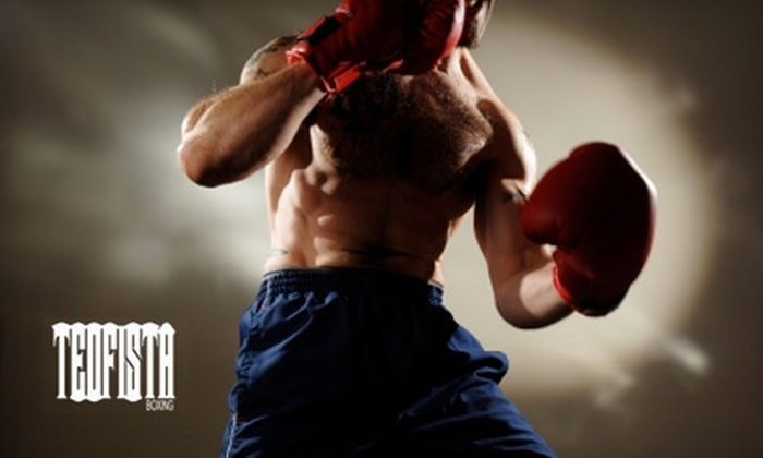 Teofista Boxing - Silver Springs: $25 for 48 Days of Unlimited Boxing Boot Camp Classes and Open Gym Access at Teofista Boxing ($300 value)