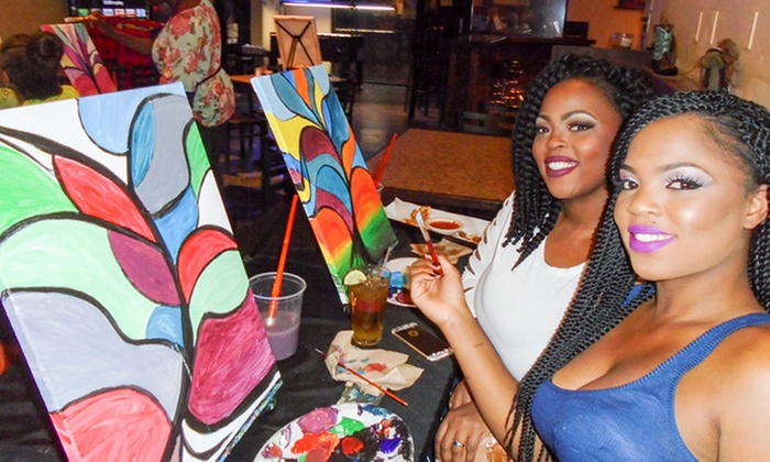 Vino and Canvas - Phoenix: $24 for a Two-Hour Painting Class for One from Vino and Canvas ($45 Value)