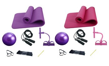 Seven-Piece Yoga Kit Set