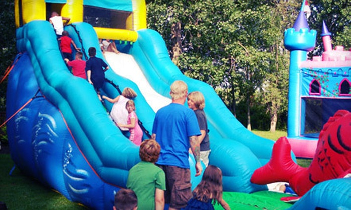 TEC Entertainment - Eggertsville: Bounce House, Karaoke, Chocolate Fountain, or Backyard Party Package from TEC Entertainment (Up to 54% Off)