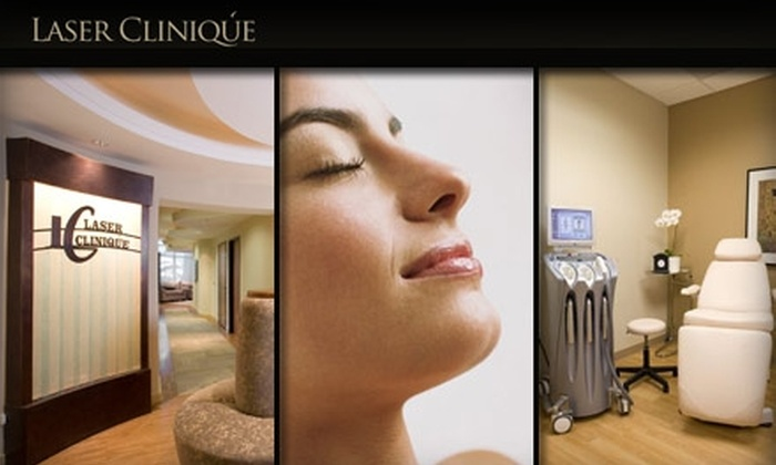 Laser Clinique - Carmel Valley: $149 for Three Laser Hair-Removal Treatments at Laser Cliniqúe