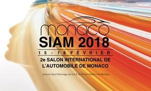 France billet: Pass au choix pour la 2e édition du Salon de L'automobile de Monaco du 15 au 18 février 2018 dès 9 €