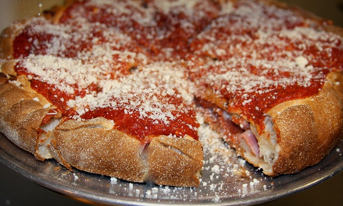 Grand Rapids Pizza & Delivery - Heritage Hill: $10 for $20 Worth of Pizza and Italian Fare from Grand Rapids Pizza & Delivery