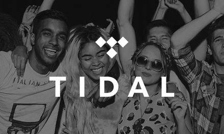 FREE 3-Month TIDAL HiFi Music Streaming Service Trial - New