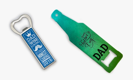 Father's Day Personalized Bottle Opener/Fridge Magnets from Monogram Online photo