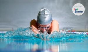 PARCO DEI PINI: 12, 16 o 24 ingressi per nuoto libero al circolo sportivo Parco dei Pini (sconto fino a 82%)