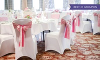 Wedding Package with Three-Course Meal for 50 Day and 50 Evening Guests at Best Western Marks Tey Hotel (57% Off)