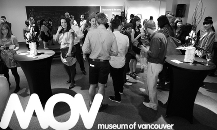 Museum of Vancouver - Kitsilano: $27 for Adult Dual Membership to the Museum of Vancouver ($55 Value)